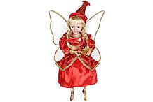 Новогодняя декоративная фигура Фея 40см, цвет - красный BonaDi NY14-419