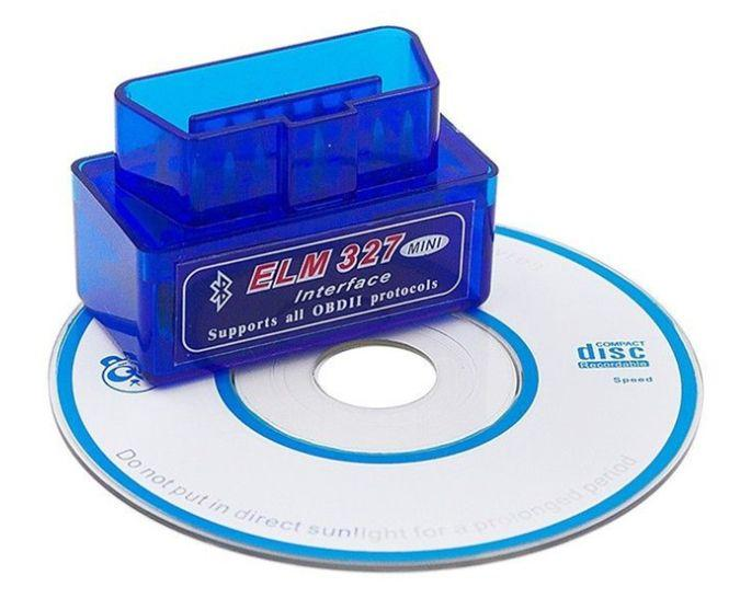 Авто сканер-адаптер ELM327 v1.5 PIC 25K80 Bluetooth OBD2 ошибок LEAF