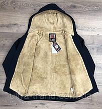 Тёплые мужские качественные толстовки - кофты на меху. Производство - Турция.