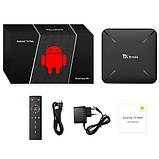 Медіаплеєр Android Smart TV Box Amlogic S905W 2/16ГБ Tanix TX3 Mini H, фото 3