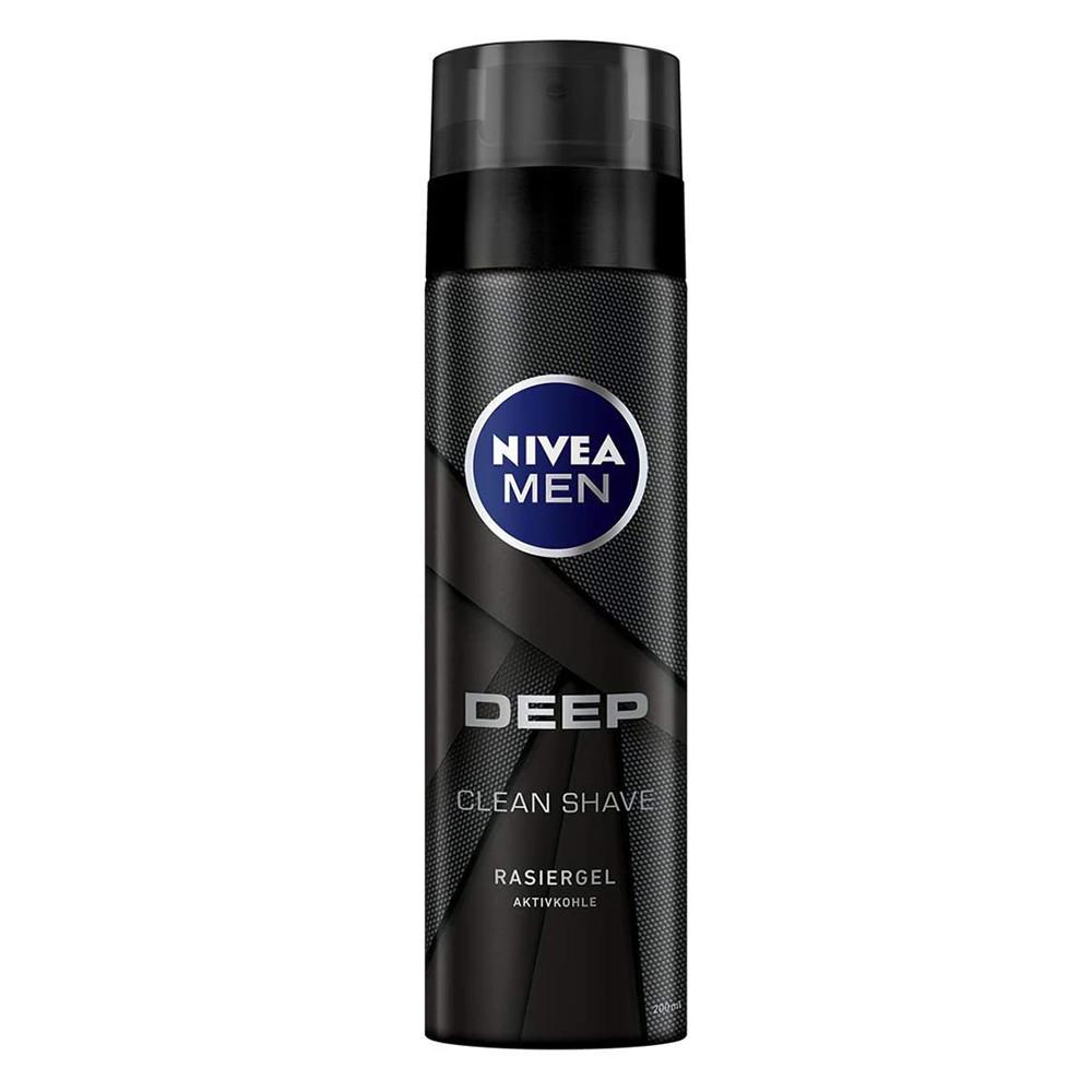 Гель для гоління Nivea Men Deep Clean Shave 200 мл (4005900497307)