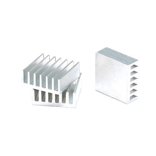 10x Радіатор алюмінієвий міні 14х14х6мм