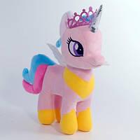 """М'яка іграшка """"Поні рожева"""", Копиця 00084-87, 33x11x32"""