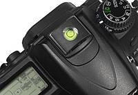 Заглушка-уровень на горячий башмак для Nikon, Canon, Panasonic
