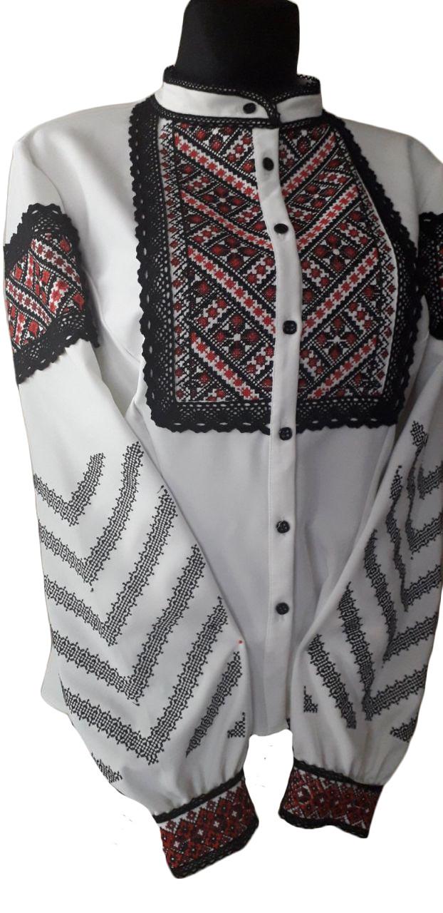 """Женская вышитая рубашка """"Дейли"""" BU-0039"""