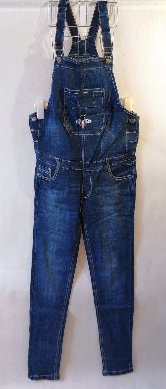 Женский джинсовый комбинезон для беременных Размер  29