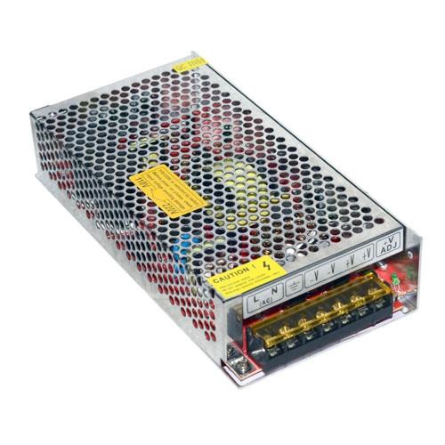 Блок живлення перфорований 24В 5А 120Вт, 2-кан для LED-стрічок CCTV