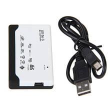 USB Mini/MicroSD, SD MMC, xD M2 MS Duo CF кардрідер