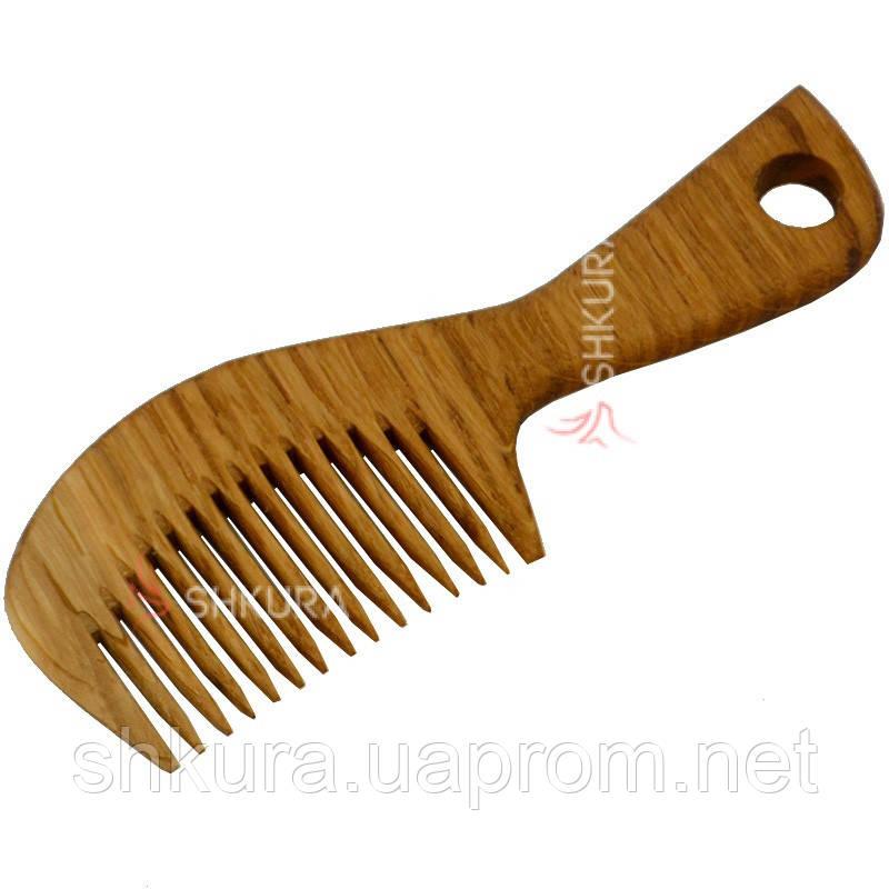 Деревянная расческа Д05