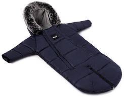 Зимовий конверт темно-синій Bair North premium