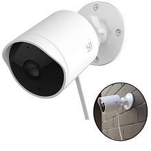 IP Wi-Fi камера відеоспостереження YI Outdoor 1080p, вулична, ІК, f3.9, IP65