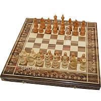 Шахматы 3 в 1. 50х50 см, фото 1