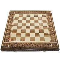 Різьблена шахова дошка 50х50, фото 1