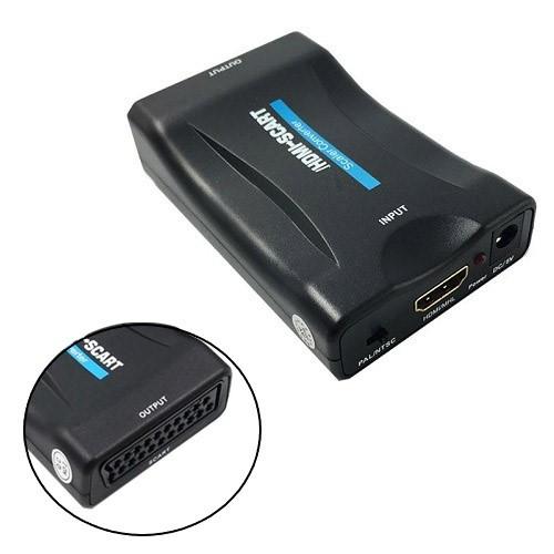 Конвертер HDMI – SCART, аудіо, відео, до 1080p, 60fps