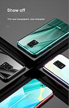 Магнитный чехол FULL GLASS 360° для Xiaomi Redmi Note 9S / Note 9 Pro / Note 9 Pro Max /