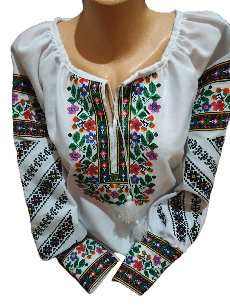 """Женская вышитая рубашка """"Брайси"""" BT-0033"""