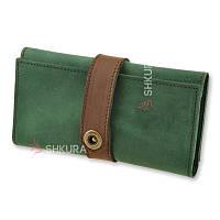 Жіночий гаманець 3.0 Смарагд-горіх, фото 1