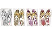 Набор елочных украшений (2шт) Туфельки 12см, 4 вида BonaDi 144-350
