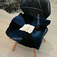 Накидка на стілець з овчини 11