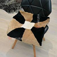 Накидка на стілець з овчини 12