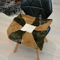 Накидка на стілець з овчини 13