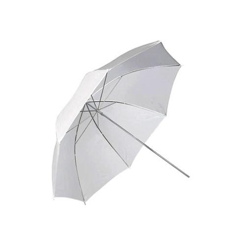 """Фото парасолька 84см білий 33"""" студійний на просвіт"""