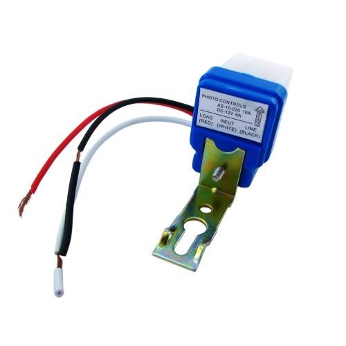 Фотореле, датчик включення вуличного освітлення 12В