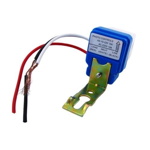 Фотореле, датчик включення вуличного освітлення 220В
