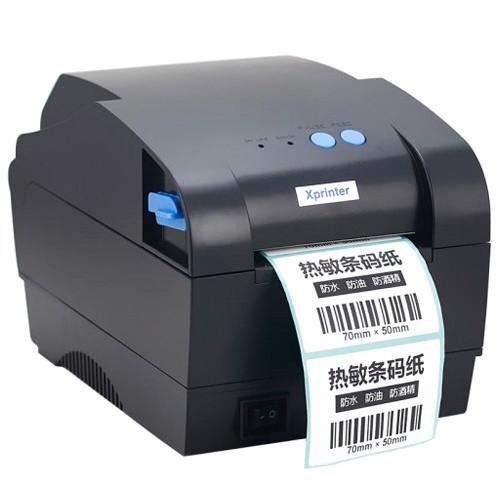 Термопринтер етикеток, наклейок, штрих-коду Xprinter XP-80мм 365B