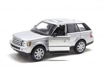 Машинка KINSMART Range Rover Sport (серебристая) KT5312W