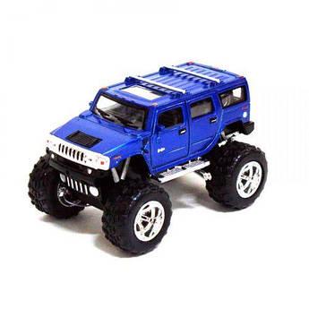 """Внедорожник KINSMART """"Hummer H2"""" (синяя) KT5337WB"""