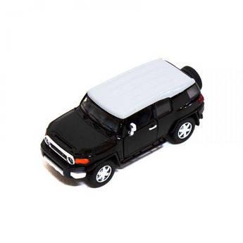 Машинка KINSMART Toyota FJ Cruiser (черная) KT5343W