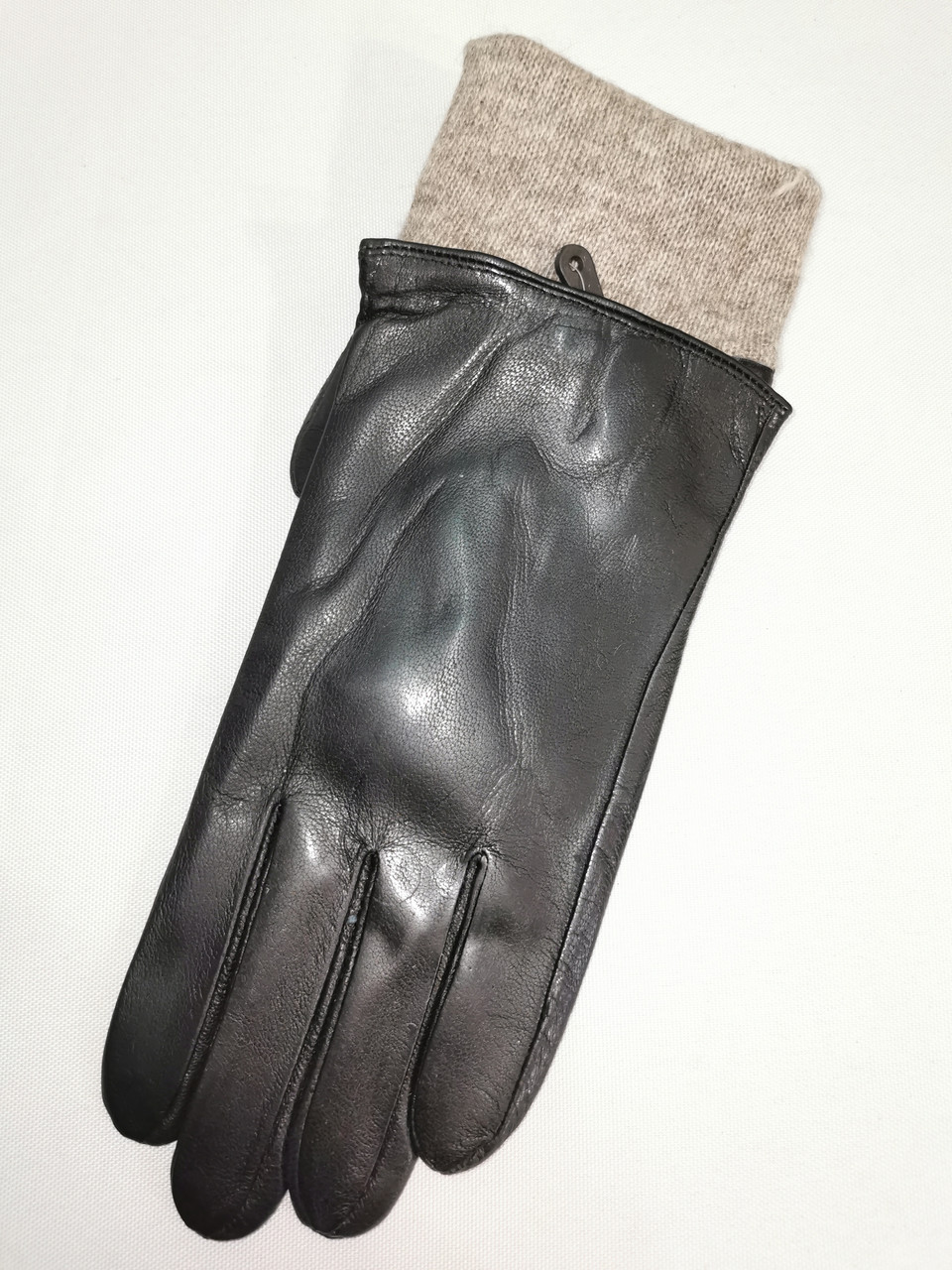 Кожа натуральная с шерсти сетка Angel  мужские перчатки только оптом