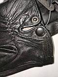 Кожа натуральная с шерсти сетка Angel  мужские перчатки только оптом, фото 2