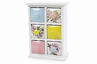 Мини-шкаф для хранения специй Птички BonaDi DK0077-D