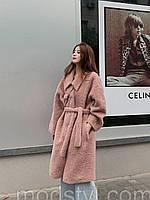 Шуба из овечьей шерсти, женское пальто 4 цвета, фото 1
