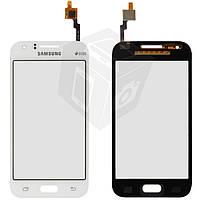 Сенсорный экран (touchscreen) для Samsung Galaxy J1 J100H/DS, белый, оригинал