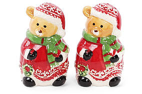 Набір для спецій Ведмедики: солонка і перечниця, 7.5 см BonaDi 827-807