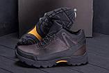 Мужские зимние кожаные ботинки Е-series Active Drive Brown ., фото 8