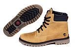 Мужские зимние кожаные ботинки Timderland Crazy Shoes Limone ., фото 5