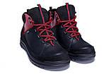 Мужские зимние кожаные ботинки ZG  Flotar Red style, фото 3