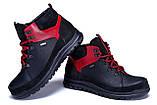 Мужские зимние кожаные ботинки ZG  Flotar Red style, фото 4