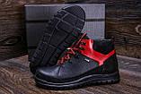 Мужские зимние кожаные ботинки ZG  Flotar Red style, фото 7