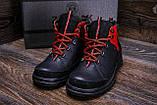 Мужские зимние кожаные ботинки ZG  Flotar Red style, фото 8