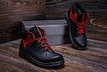 Мужские зимние кожаные ботинки ZG  Flotar Red style, фото 9