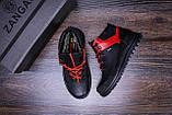 Мужские зимние кожаные ботинки ZG  Flotar Red style, фото 10