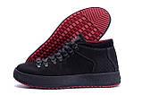 Мужские зимние кожаные ботинки ZG Black Exclusive, фото 5
