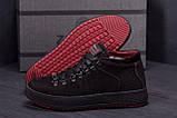 Мужские зимние кожаные ботинки ZG Black Exclusive, фото 8