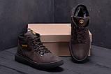 Мужские зимние кожаные ботинки Timderlend Zaragoza Brown ., фото 7