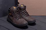 Мужские зимние кожаные ботинки Timderlend Zaragoza Brown ., фото 8